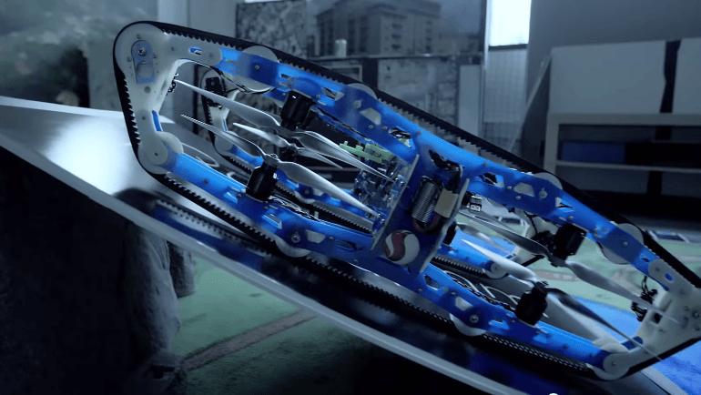 クアルコムの戦車型マルチコプター
