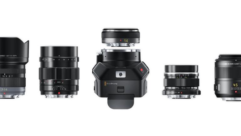 Blackmagic Micro Cinema Camera(ブラックマジックマイクロシネマカメラ)はレンズ交換が可能