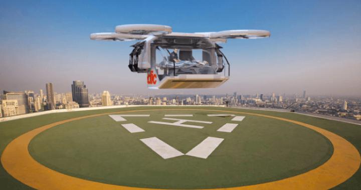 未来の救助ヘリコプター?