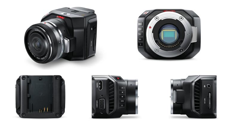 Blackmagic Micro Cinema Camera(ブラックマジックマイクロシネマカメラ)は高画質