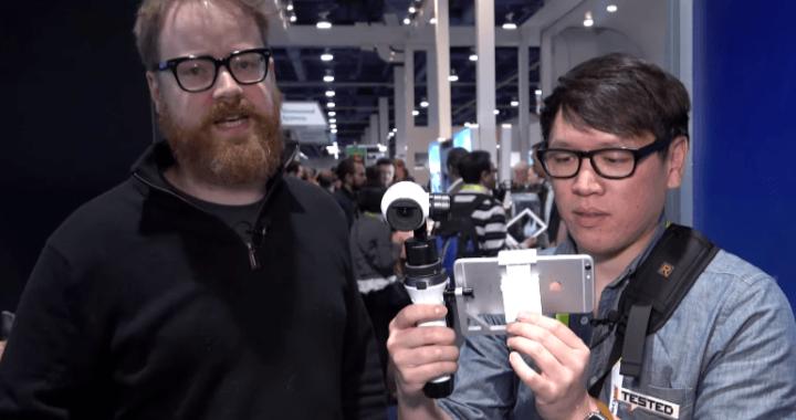 inspire1搭載の4Kカメラ用マウント