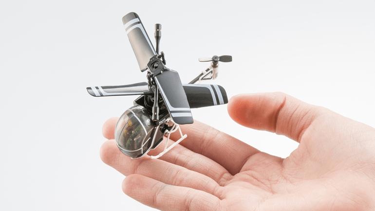 世界最小赤外線ヘリ