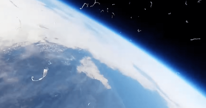 気球とゴープロを使った空撮がすごい